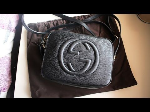 ffcf49ed163a98 Handbag Unboxing: Gucci Soho Disco Bag - YouTube | Wish list ...