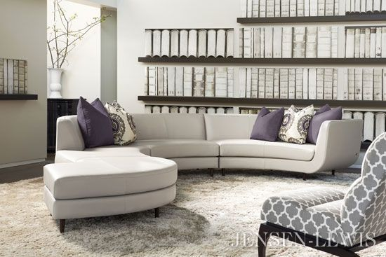 American Leather Menlo Park Leather Sectional Sofa. Pinworthy Sofas ...