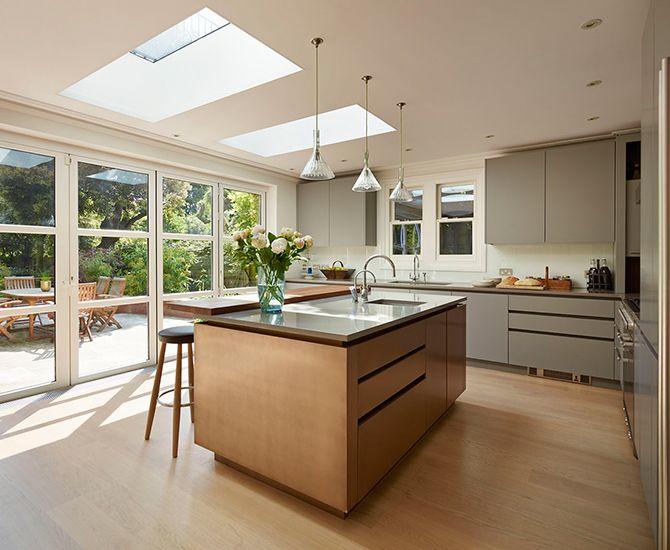 Best Handleless Modern Kitchen In Matt Grey With A Striking 400 x 300