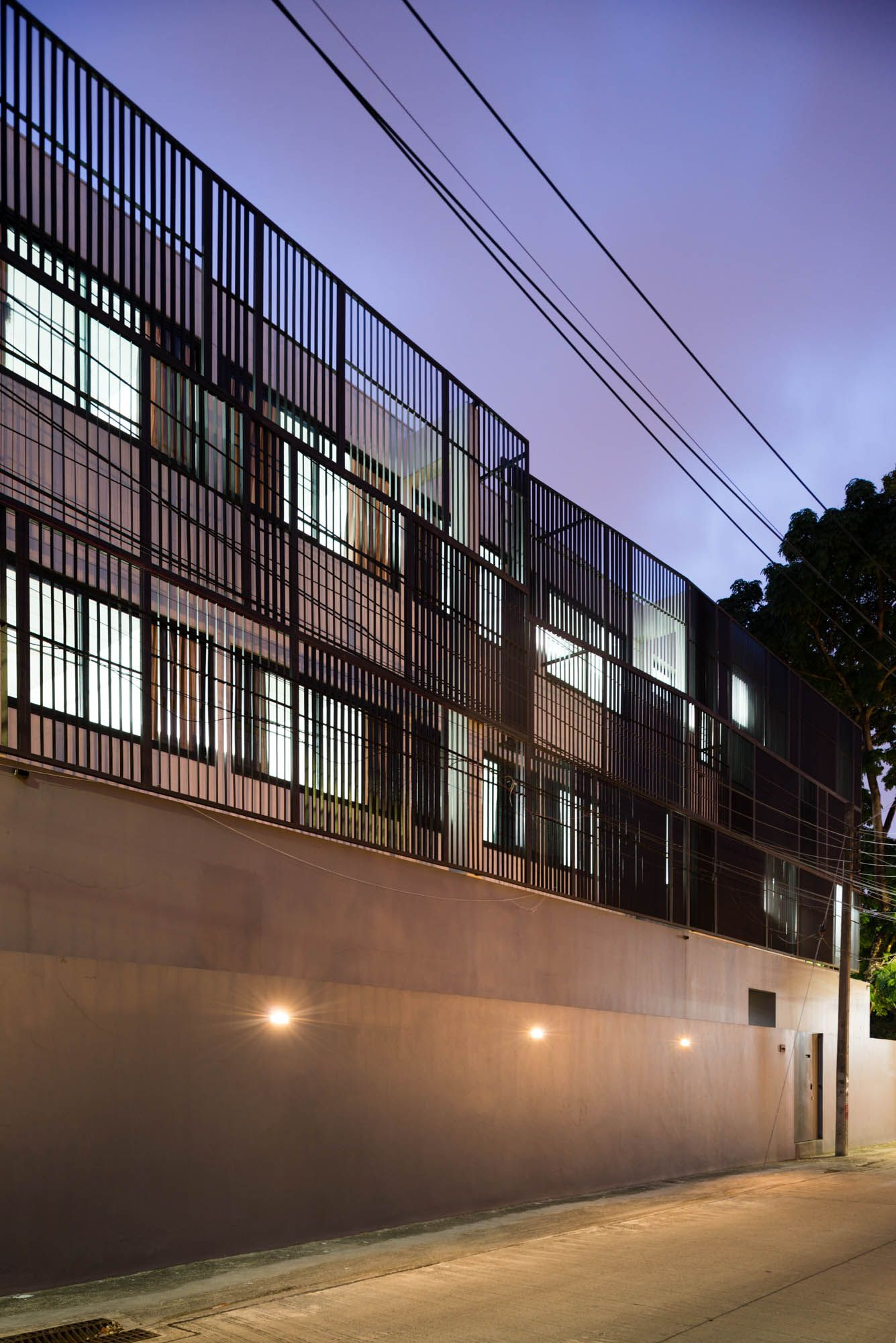 Façade for night, Phutthamonthon house, Archimontage Design Fields Sophisticated