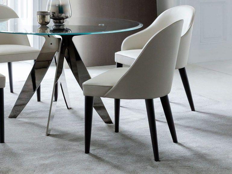 JUDY Sedia in pelle by BertO | interior design Agua | Pinterest ...