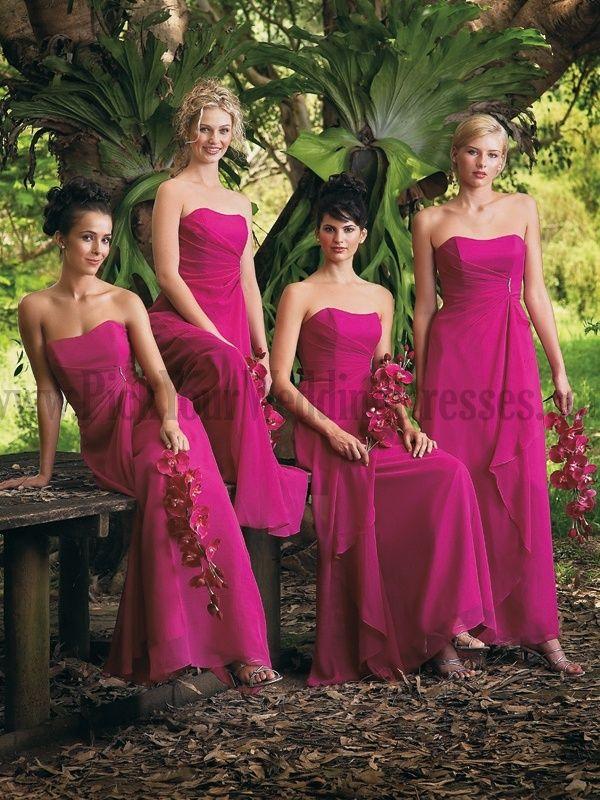 Vestidos para damas de honor en diciembre