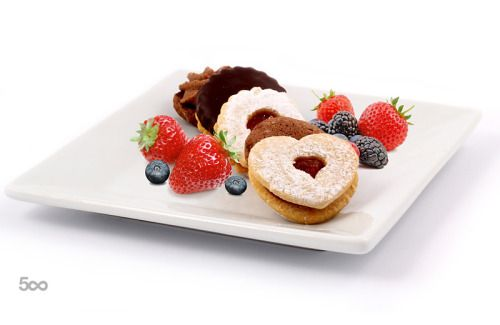 by bodza  IFTTT 500px blueberries cake dessert food strawberries sweet