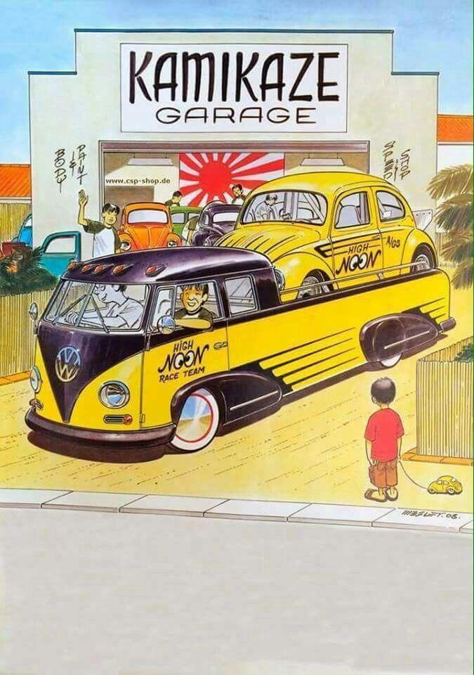 Kamikaze Garage フォルクスワーゲン ワーゲン 車輛