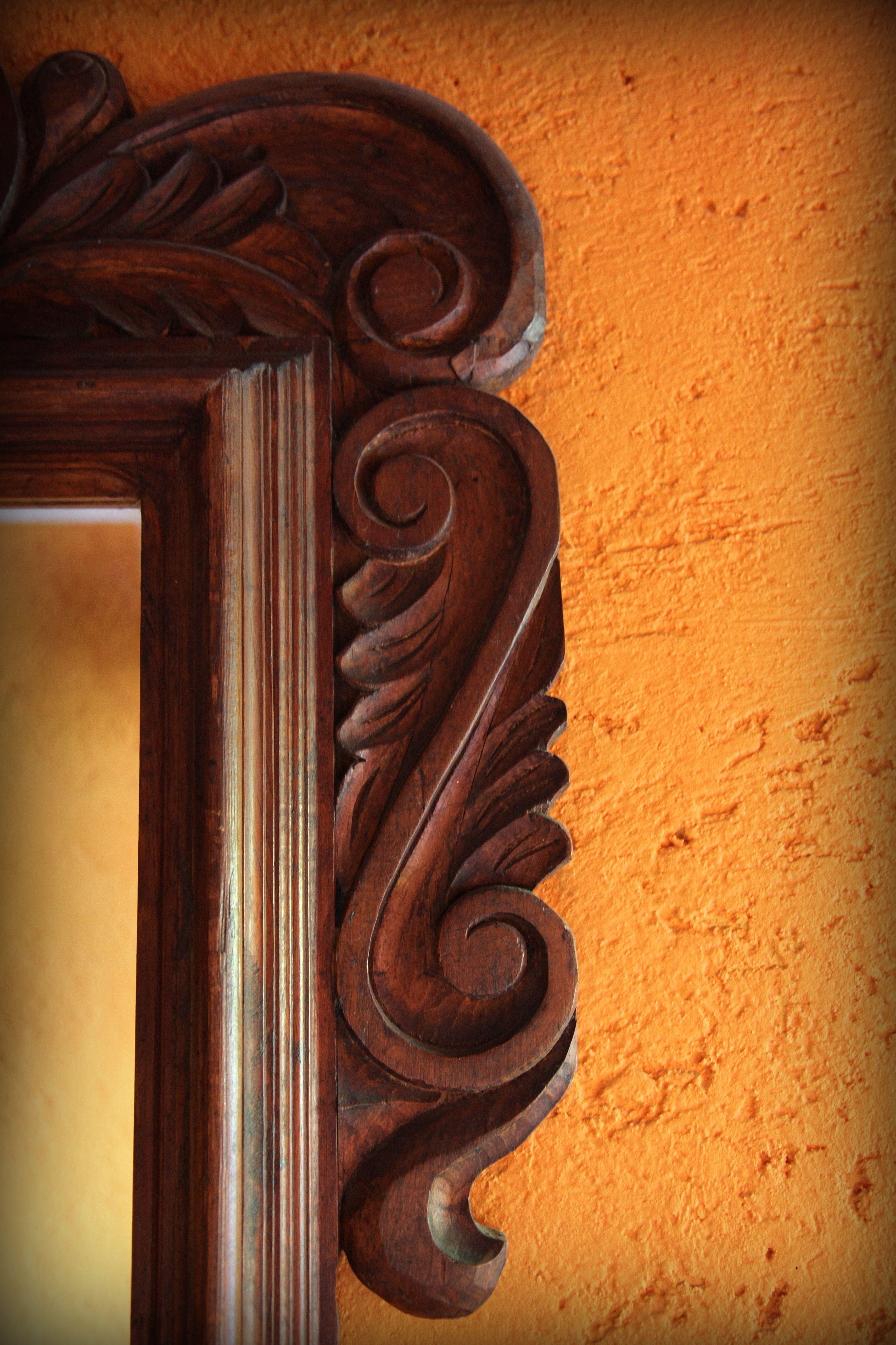 Marcos de madera, 100% arte mexicano. | detalles | Pinterest ...