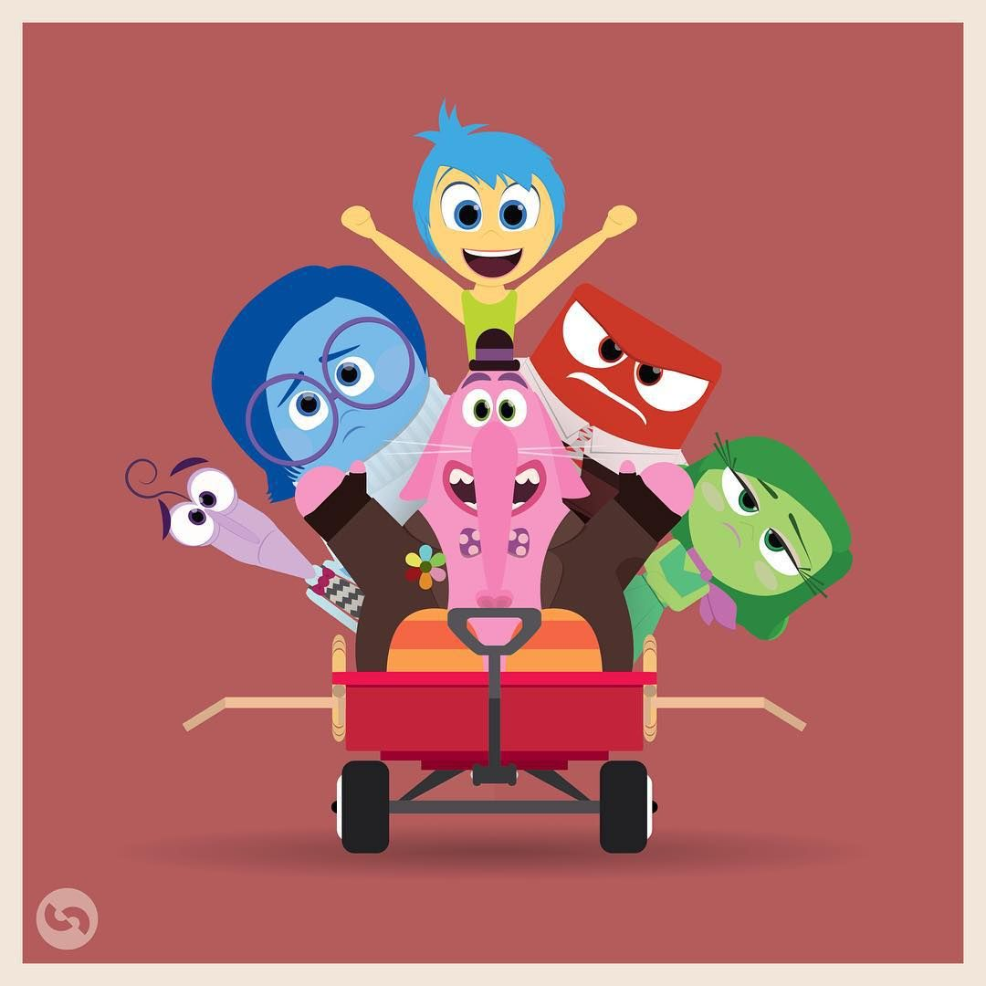 Disney/Pixar: Inside Out:)