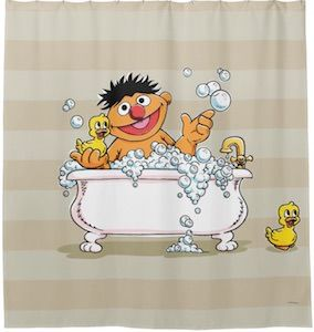 Sesame Street Letters Of The Alphabet Shower Curtain Zazzle