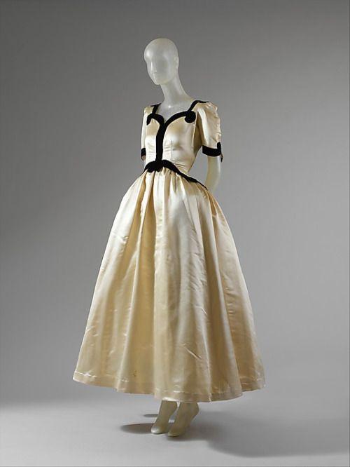 """Velasquez"" Cristobal Balenciaga, 1939 The Metropolitan Museum of Art"
