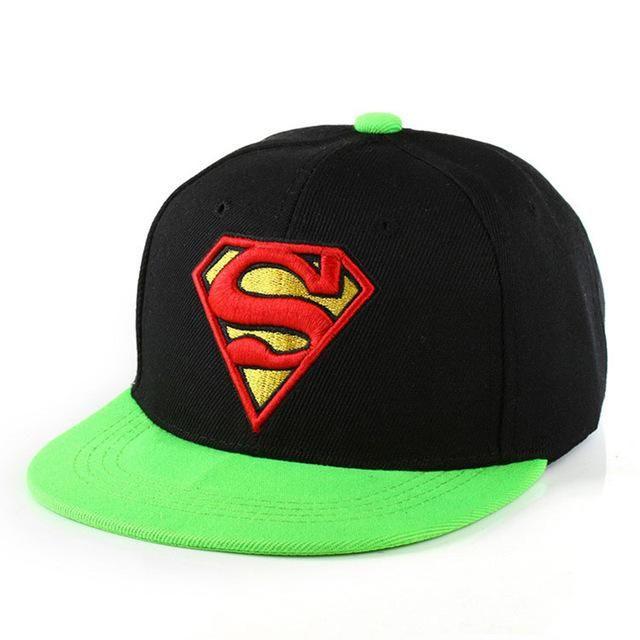 6cee307c259 2018 New Brand Children Superman Snapback Hats Baseball Cap Boys And Girls Kids  Fashion Hip Hop