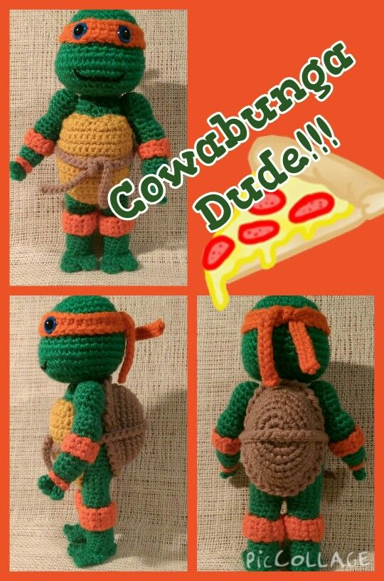 Cowabunga Dude! .... Meet the pizza loving Mikey from the infamous ...