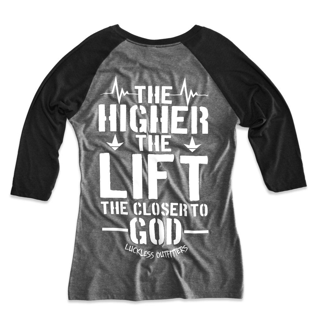 AB High Lift Raglan Jeep clothing, Luckless clothing, Jeep