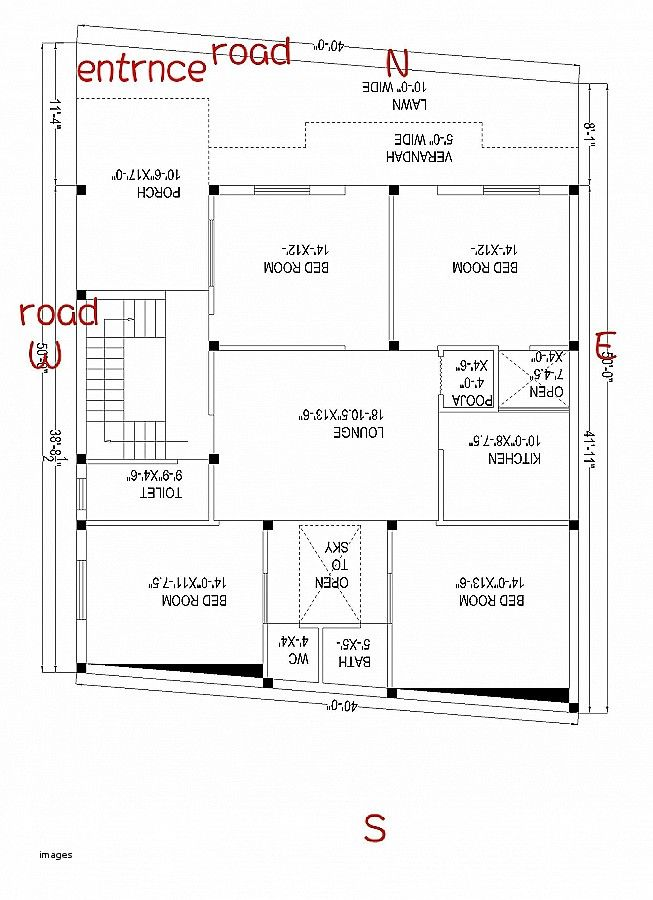South Facing House Plans As Per Vastu Plan Vaastu North East South Facing House Master Bedroom Plans How To Plan