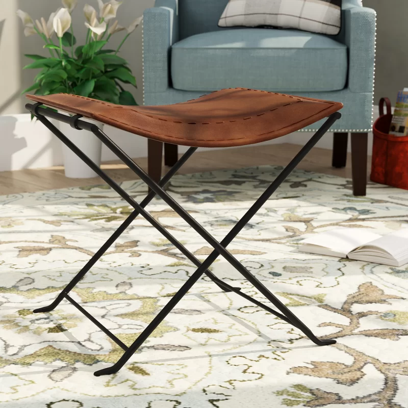 Remus Metal Accent Stool In 2020 Accent Stool Stool Metallic Accents