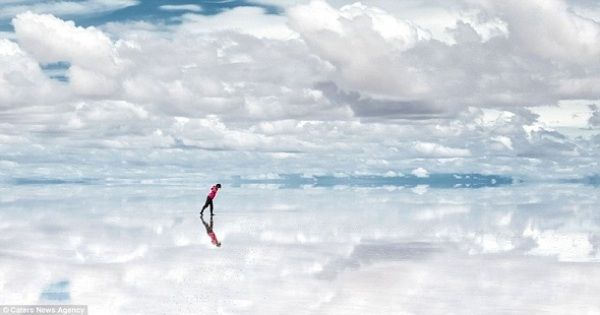This is Salar de Uyuni.