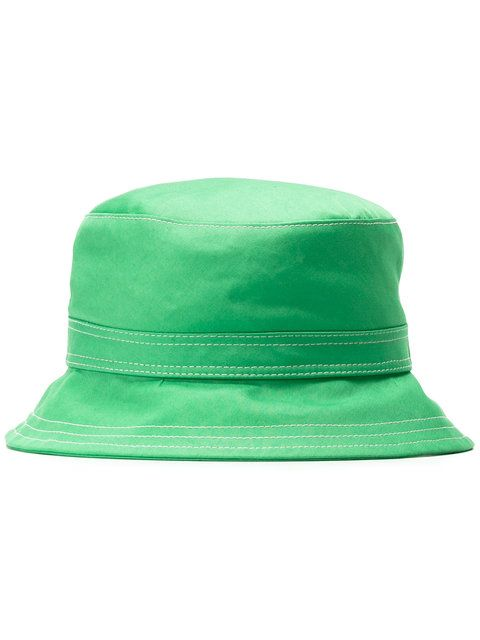 d89ccaf9e7f THOM BROWNE classic bucket hat.  thombrowne  hat Green Hats