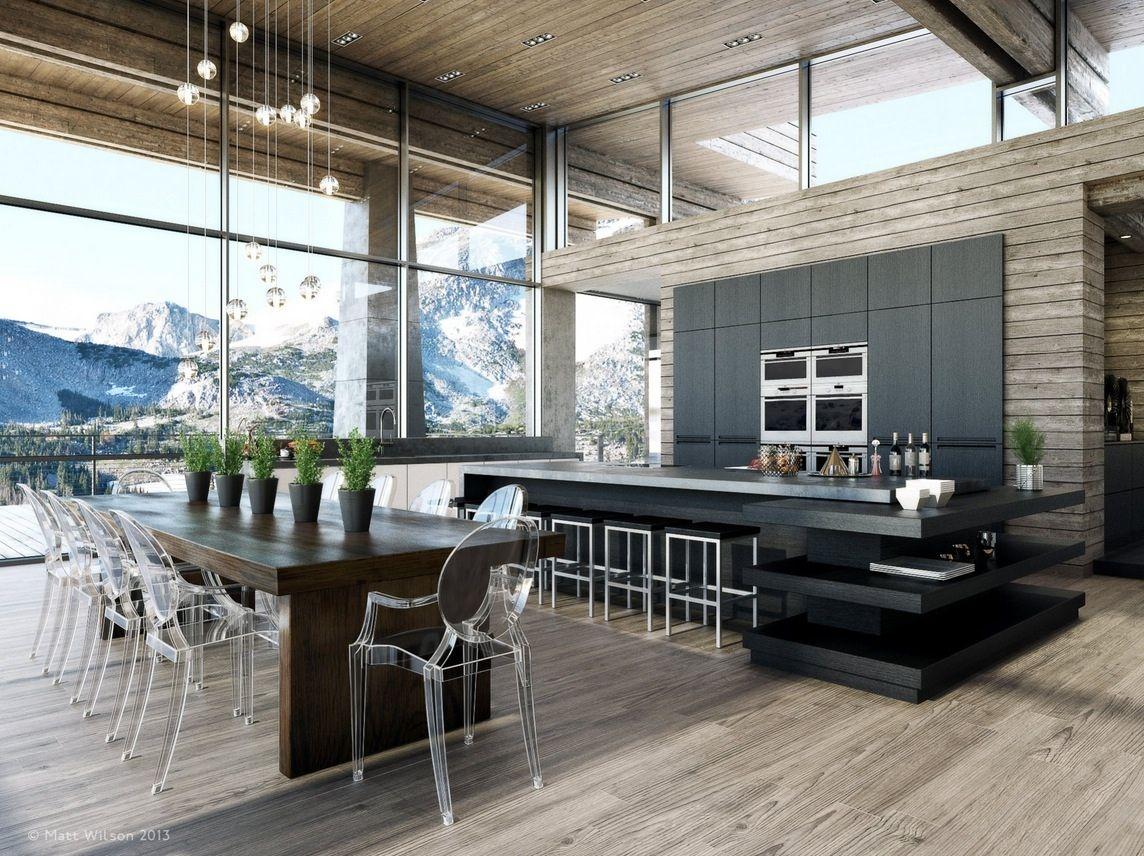 Küchendesign einfach klein  luxuriöse dining room design styles mit einer vielzahl von