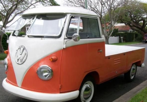 1960 Volkswagen T1 Kombi Single Cab Ute