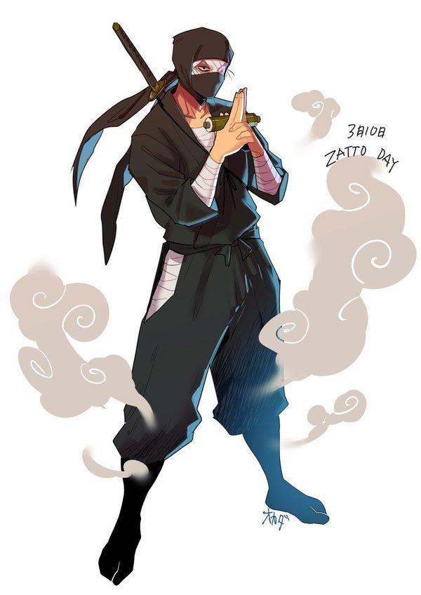 Ninja dessin okada manga news tvhland ninja dessin et classe - Dessin anime ninja ...