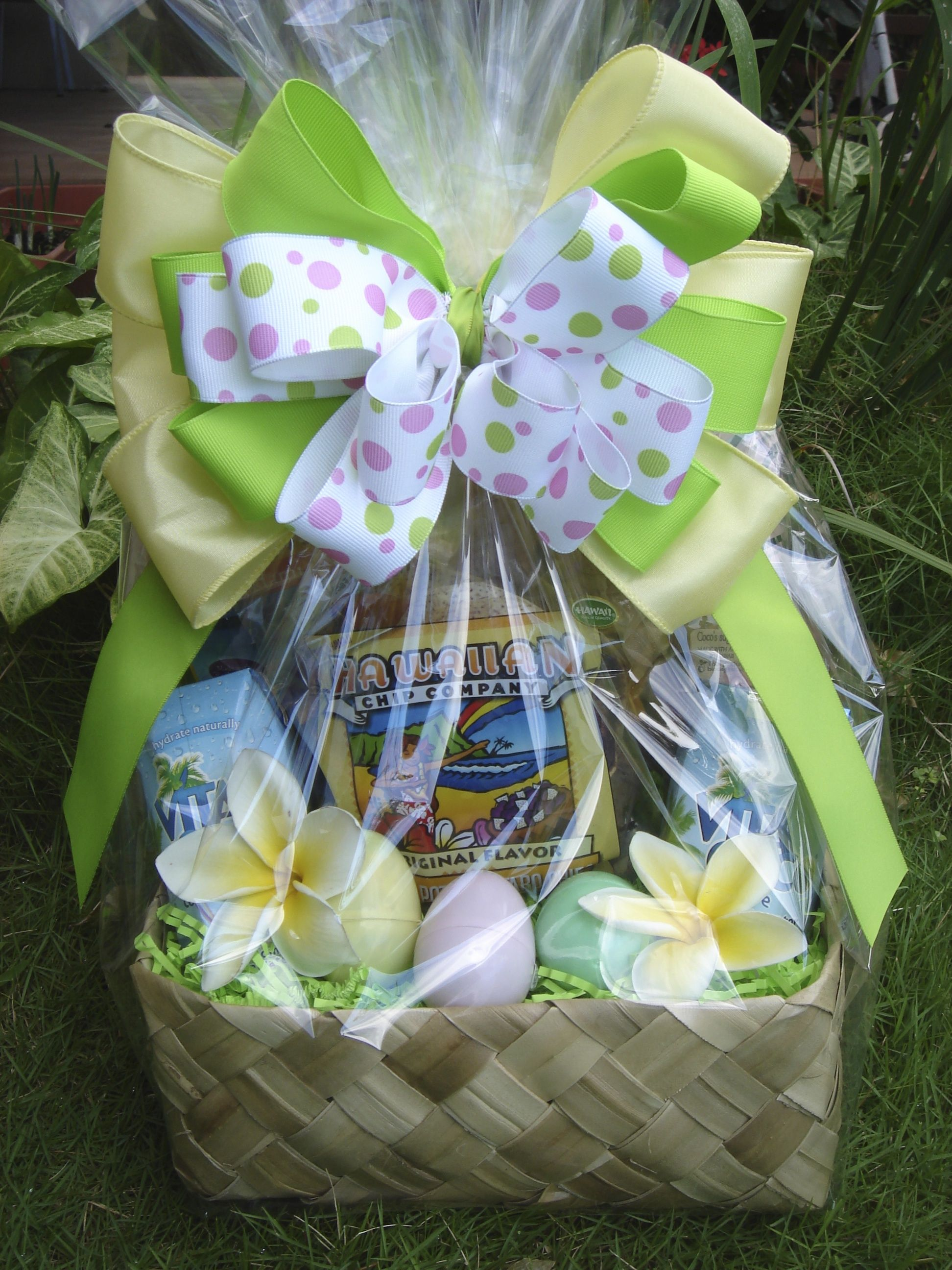 Cute hawaiian easter baskets exquisite basket expressions cute hawaiian easter baskets exquisite basket expressions distinctive hawaiian gourmet gift basket www negle Images