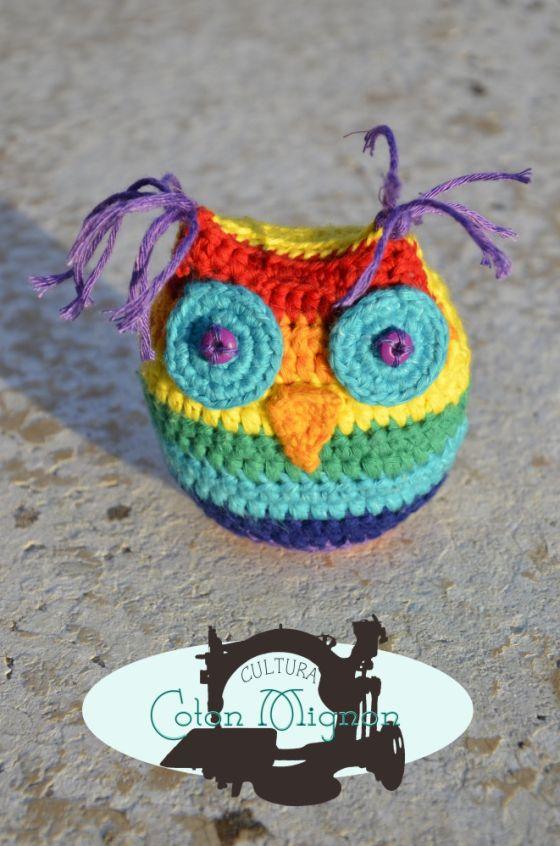 Buho crochet culturacotonmignon | Crochet | Pinterest | Ganchillo ...