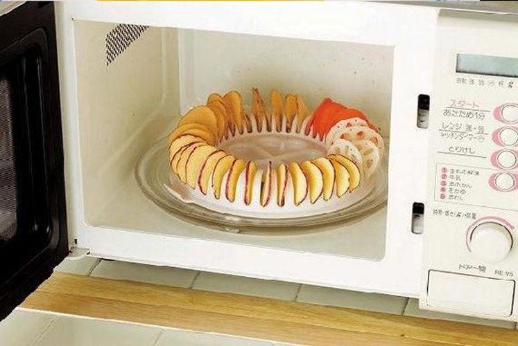 Barato Microondas Diy Forno Baked Potato Chips Caseiro Fabricante