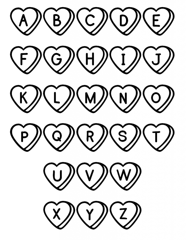 Free Printable Abc Coloring Pages For Kids Abc Malvorlagen Alphabet Malvorlagen Typografie Alphabet