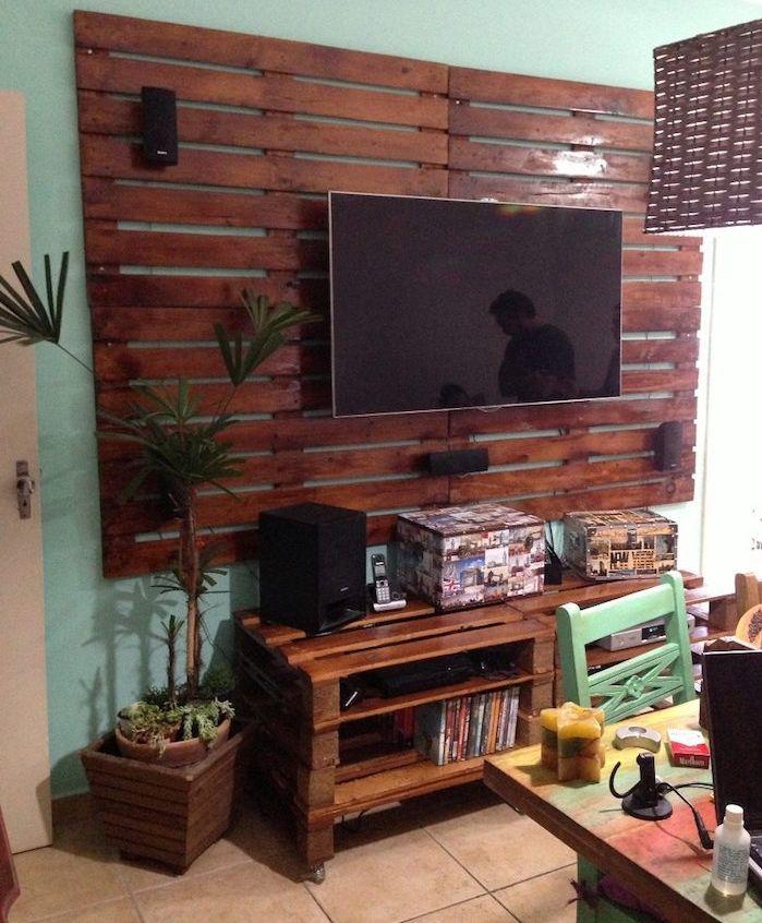 Meuble Tv Palette Le Recyclage En Chaîne Diy Meuble Tv