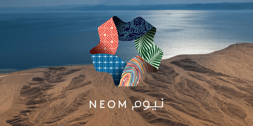 Neom Megacity With Its Own Moon Dinosaurs And Robots Reaches Next Phase Future Dxb Branch Vector Futuristic City Art Center