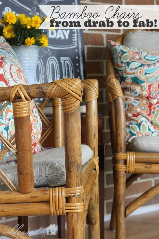 Bamboo Chairs Getting Crafty Diy Furniture