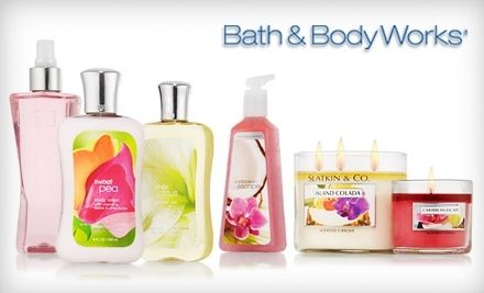 Bath & Body Works: 20% Off Entire Purchase(In Store or Online)