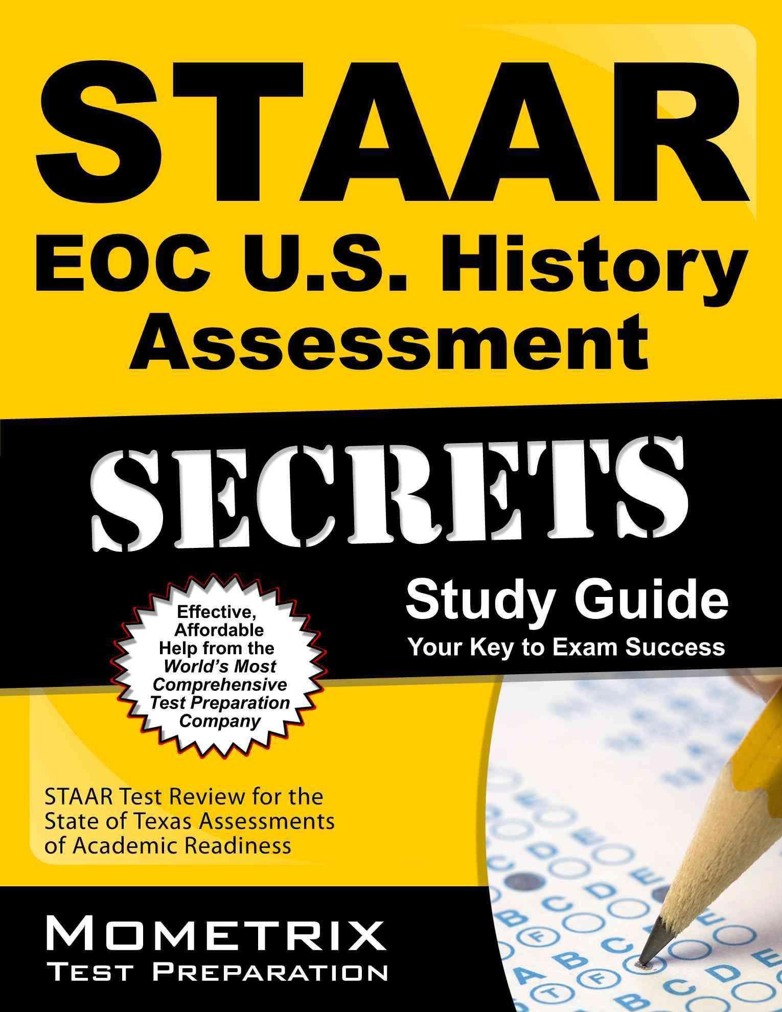 Staar Eoc Us History Assessment Secrets Study Guide Staar Test