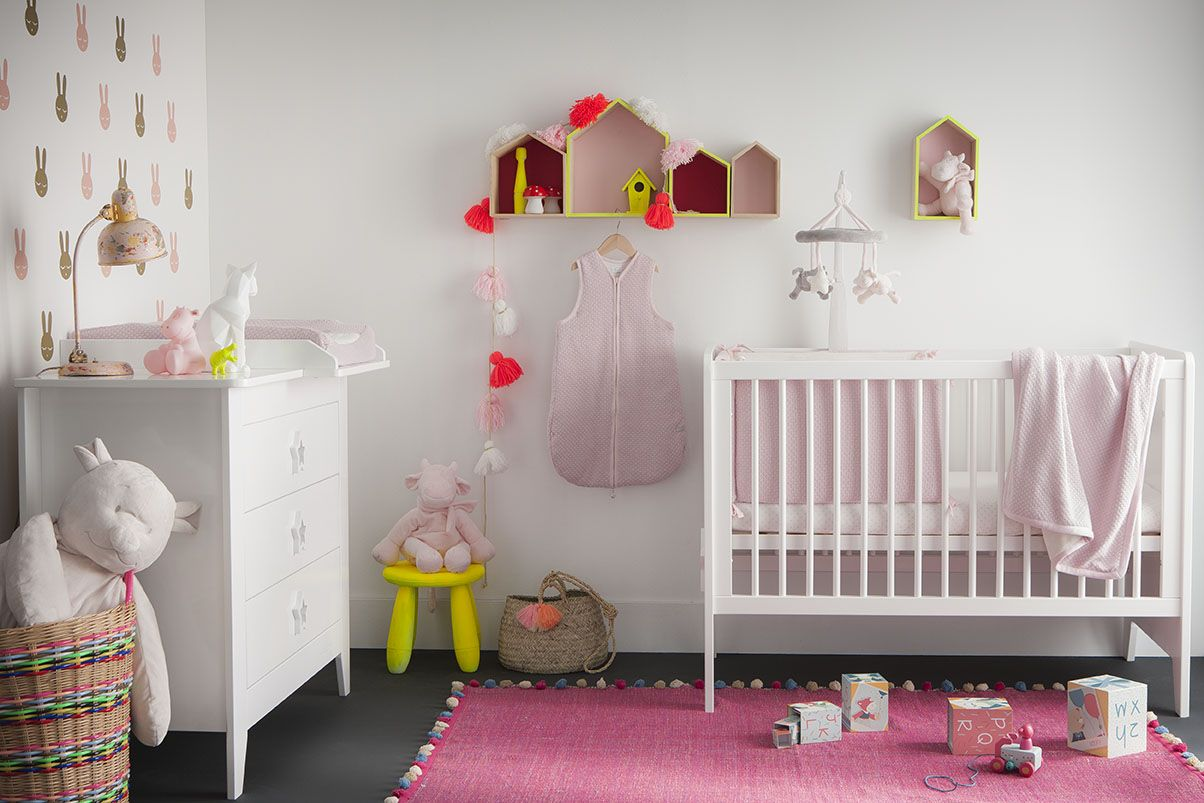 The Sublime Collection Noukie S Pink And Yellow Baby Room For Little Girls Chambre Bebe Rose E Chambre Bebe Rose Chambre Bebe Chambre Bebe Jaune Et Rose