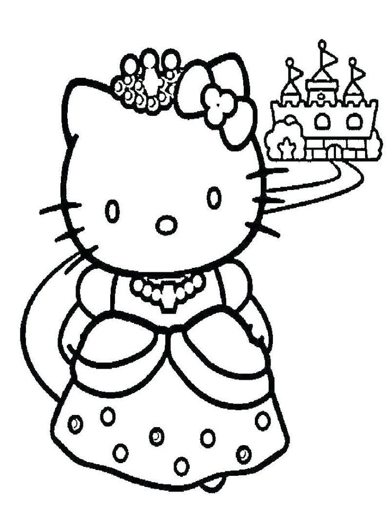 Hello Kitty Coloring Pages Free Printable Coloring Book Emoo Kitty Coloring Pages Printable Fre In 2020 Hello Kitty Coloring Hello Kitty Colouring Pages Kitty Coloring