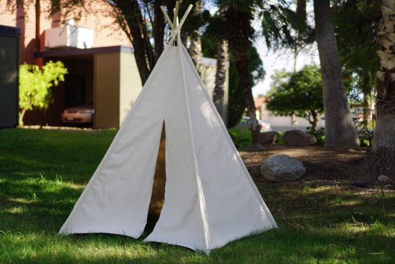 XL V2.0 family teepee tent / kids play tent/canvas Tipi Wigwam or & XL V2.0 family teepee tent / kids play tent/canvas Tipi Wigwam or ...
