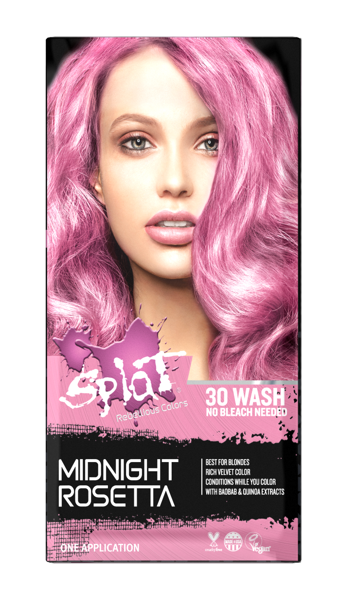 Splat Midnight Rosetta Hair Dye Semi Permanent Pink Hair Color Walmart Com In 2020 Pink Hair Dye Dyed Hair Non Permanent Hair Dye
