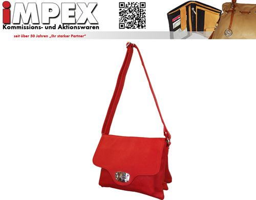 One from our new Autumn Bags. Fashionable Colours in middle red -  iMPEX GmbH