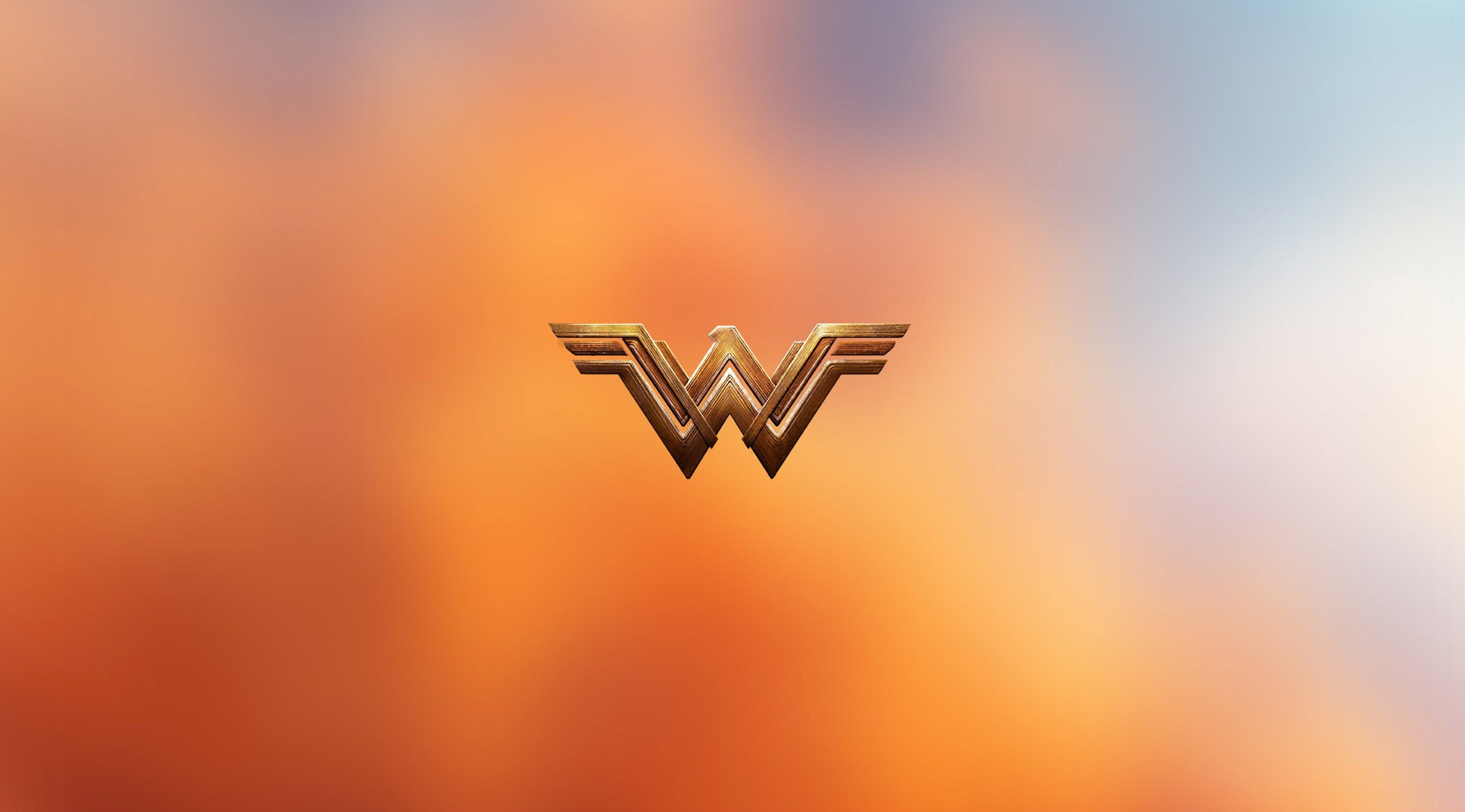 3840x2130 Wonder Woman 4k Wallpaper Hd Pc Download Wonder Woman Logo Wallpaper Pc Hero Wallpaper