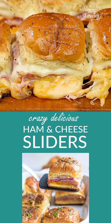 Ham and Cheese Sliders   Easy Ham Sliders Recipe #breakfastslidershawaiianrolls