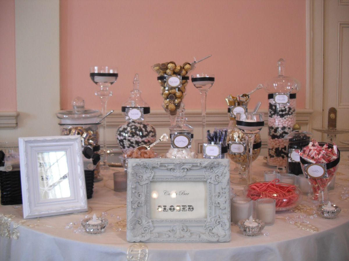 Candy Table Ideas Candy Buffet Table Decorations Candy