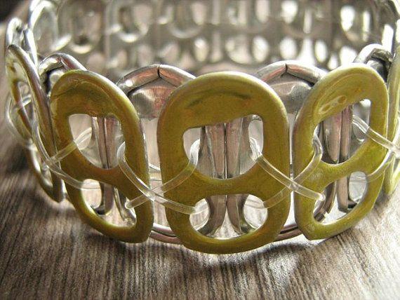 Bracelet élastique capsules liqueur recyclé peint à par AnySpirit