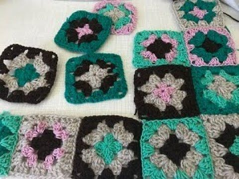how to crochet granny square - easy tutorial for beginners - كروشيه ...