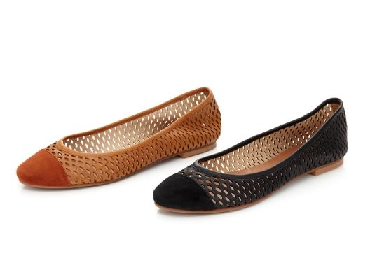 Mulberry Perforated Flat by Matt Bernson