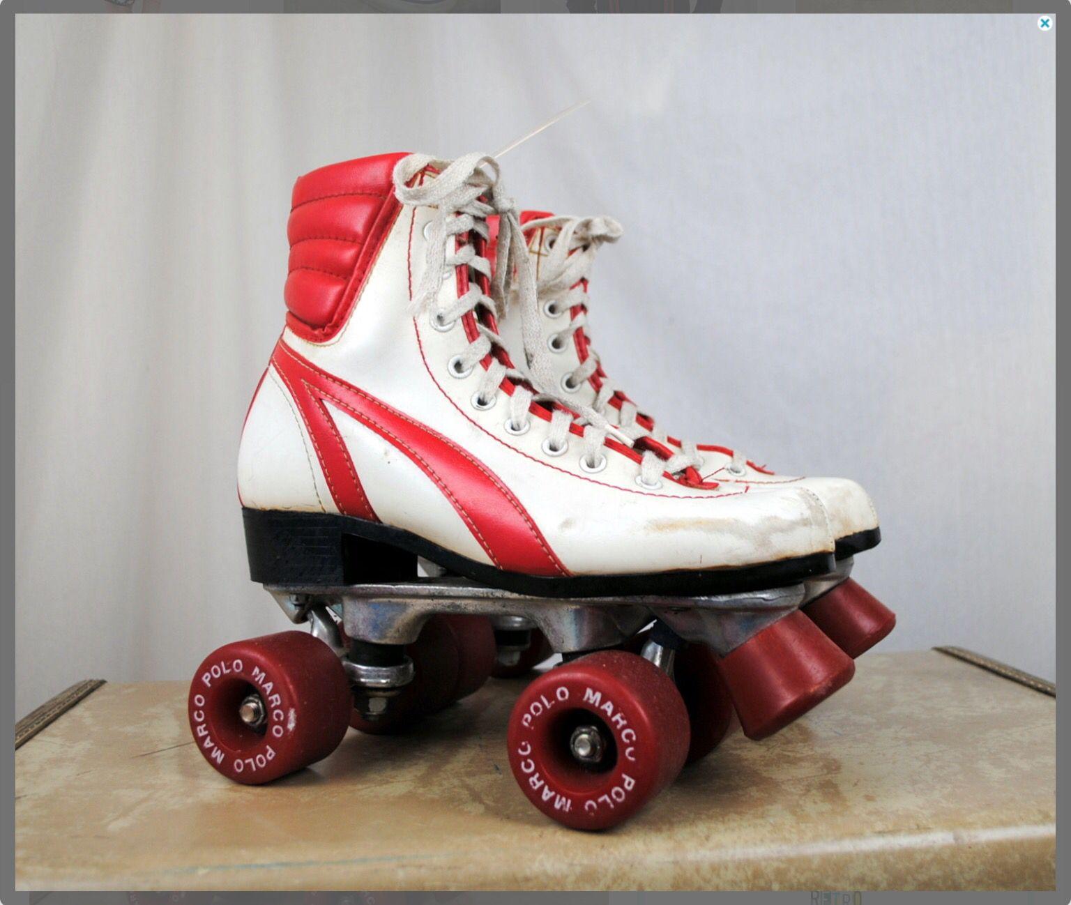 80s Marco Polo Warrior Roller skates via Etsy seller Rogue Retro :-D ...