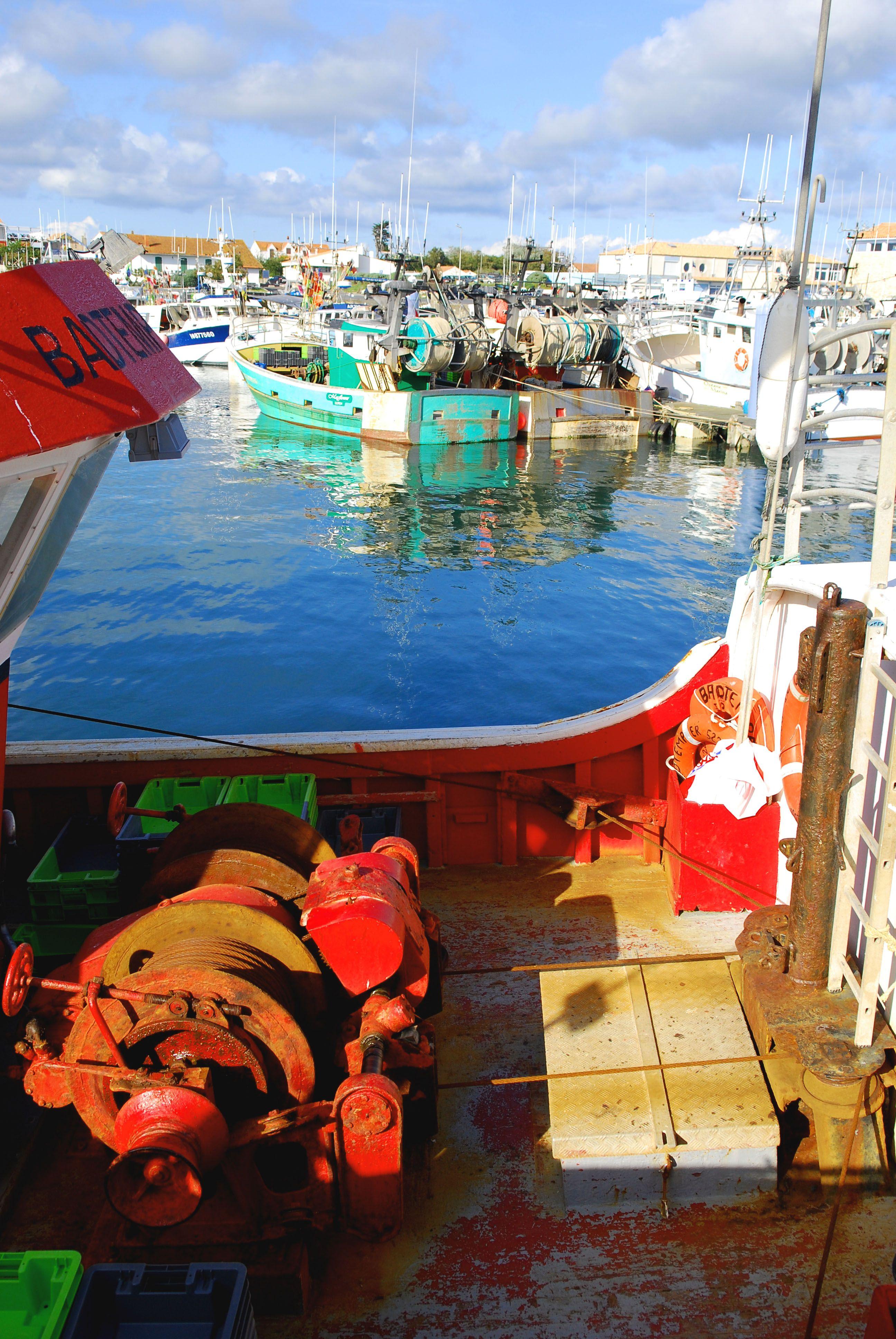 Bateaux De Peche La Cotiniere Charente Maritime 17 Site De L