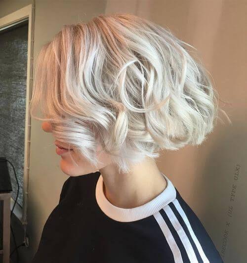 33 Best Platinum Blonde Hair Colors For 2020 Short Curly Hair Platinum Blonde Hair Color Platinum Blonde Hair