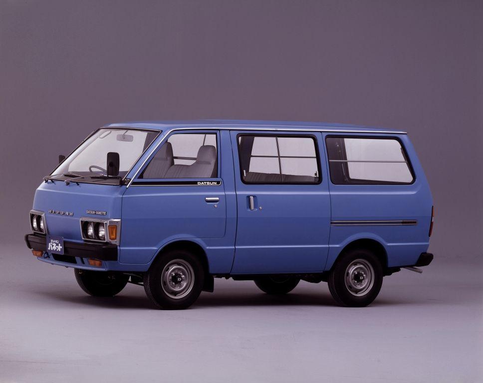 Nissan Datsun Vanette Van C120 1980 85 Автомобиль Автобус