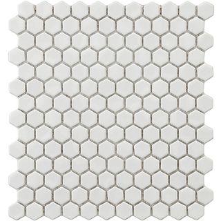 Bathroom Flooring Daltile Keystone 1x1 Hex Porcelain