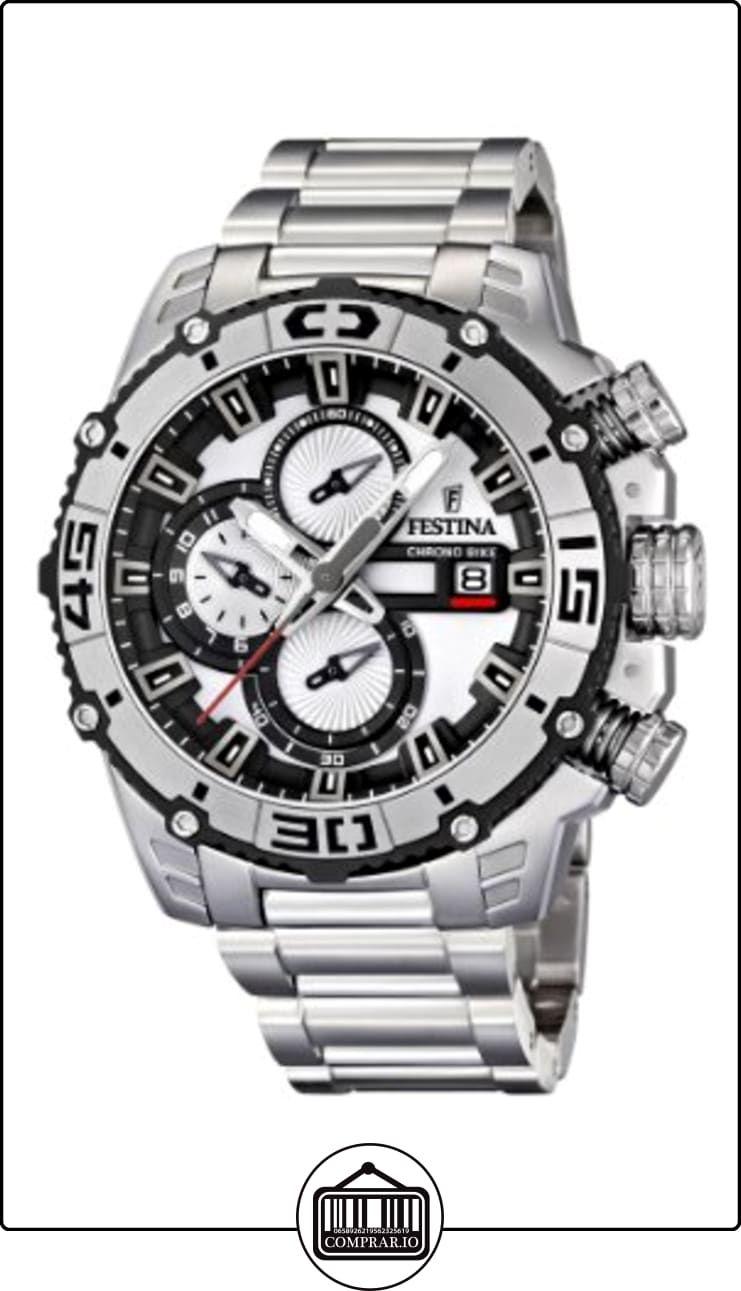 ffb425d19792 Festina 16599 1 - Reloj cronógrafo de cuarzo para hombre con correa de  acero inoxidable