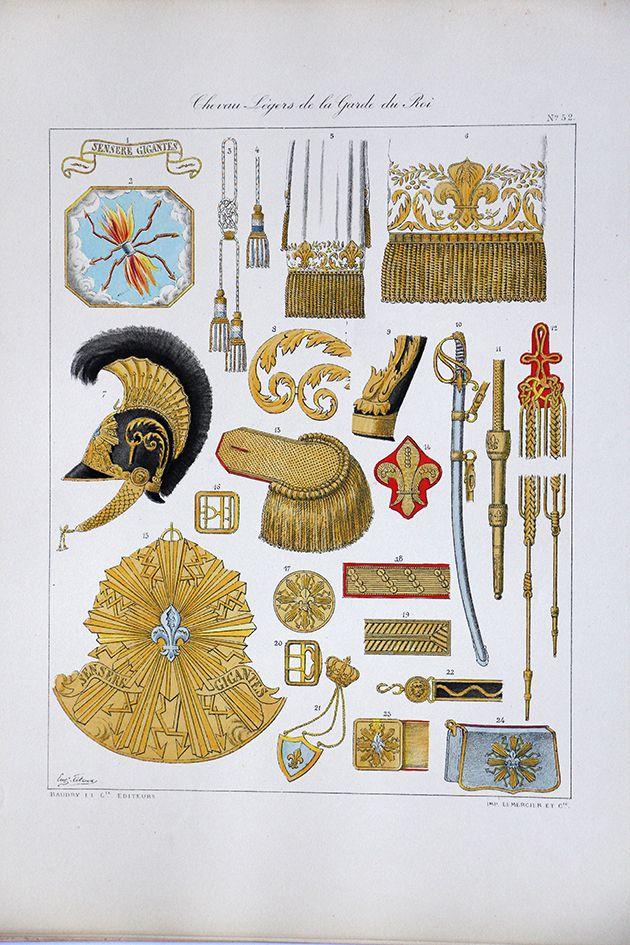 Chevau l gers de la garde du roi histoire de la maison for Origine du mot maison