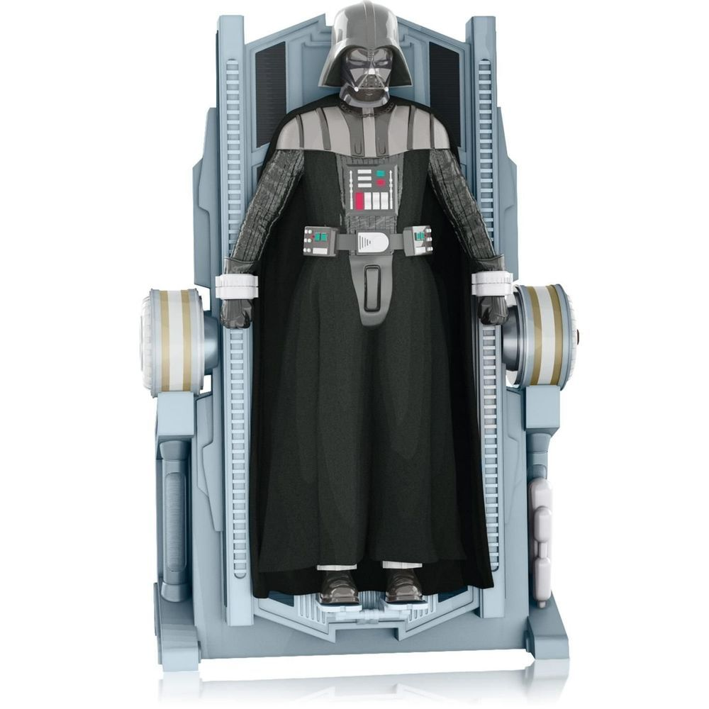 2014 HALLMARK STAR WARS THE RISE OF LORD VADER MAGIC ORNAMENT NEW NO RESERVE